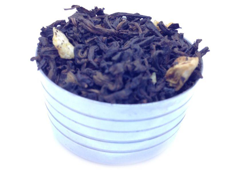 Herbata czerwona Pu-erh Tropikalna (papaja, banan, kiwi, mango, pomarańcza)