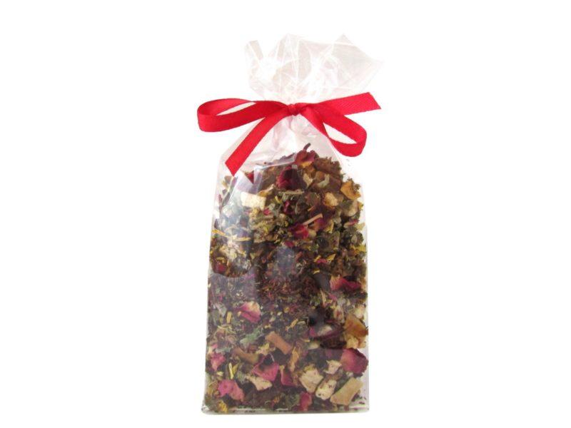 Herbata czarna Bora - Bora (aronia, rodzynki, hibiskus, jabłko, pomarańcza, słonecznik, truskawki)