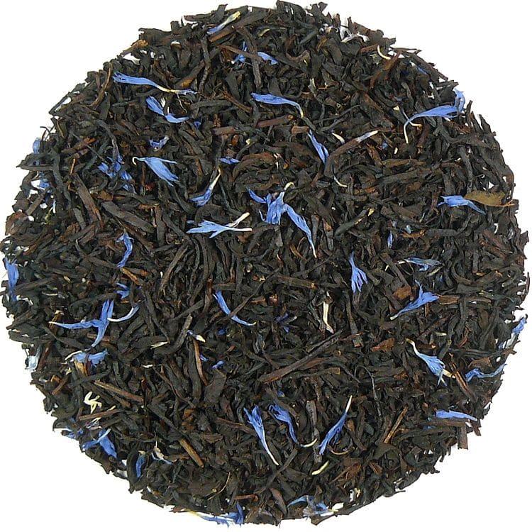 Herbata czarna Blue Sky (dodatki: cukier witaminizowany, kokos, bławatek)