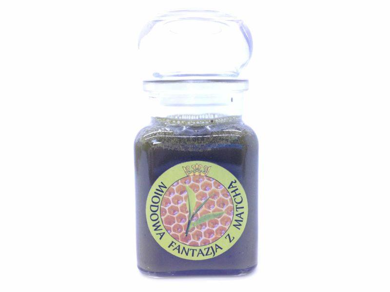 Miód z herbatą zieloną Matcha - Miodowa Fantazja 200g.