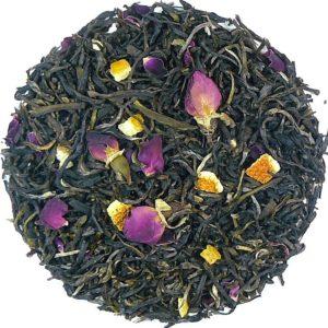 Herbata biała Róża-Pomarańcza (pączki róży, pomarańcza)