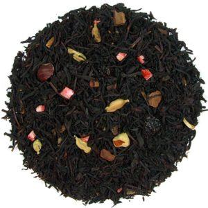 Herbata czarna Yeti (dodatki: hibiskus, śliwka, cynamon, kardamon, orzech laskowy, rodzynki)