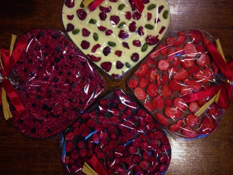 Czekoladowe Serce 150g - Ręcznie wyrabiana czekolada