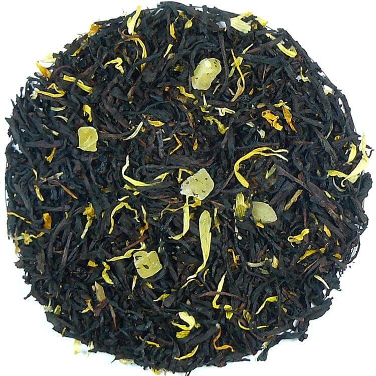 Herbata czarna Summer Time (dodatki: skórka cytryny, cytryna, nagietek)