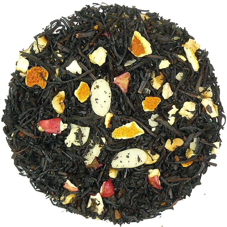 Herbata czarna Adwentowa (dodatki: jabłko, skórka pomarańczy, orzech laskowy)