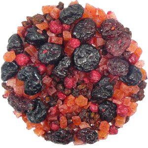 Herbata owocowa Ambrozja (wiśnia, papaja, żurawina, rokitnik, czerwona porzeczka)